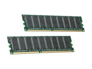 Kingston 2GB (2 x 1GB) 184-Pin DDR SDRAM Dual Channel Kit System Specific Memory