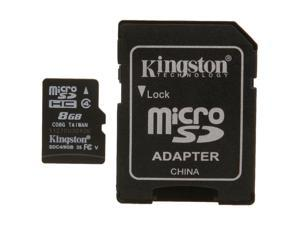 Kingston 8GB microSDHC Flash Card