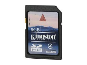 Kingston 8GB Secure Digital High-Capacity (SDHC) Flash Card