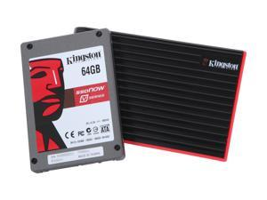 "Kingston SSDNow V-Series SNV125-S2BN/64GB 2.5"" 64GB SATA II MLC Internal Solid state disk (SSD) Notebook bundled accessory ..."