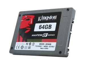 "Kingston SNV225-S2/64GB 2.5"" MLC Internal Solid State Drive (SSD)"