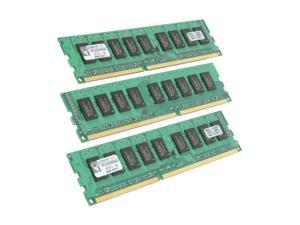 Kingston ValueRAM 6GB (3 x 2GB) 240-Pin DDR3 SDRAM ECC Unbuffered DDR3 1333 Server Memory Model KVR1333D3E9SK3/6G