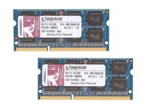 Kingston 8GB (2 x 4GB) 204-Pin DDR3 SO-DIMM Memory for Apple
