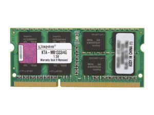 Kingston 4GB 204-Pin DDR3 SO-DIMM DDR3 1333 (PC3 10600) Memory for Apple Model KTA-MB1333/4G
