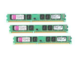 Kingston 12GB (3 x 4GB) 240-Pin DDR3 SDRAM DDR3 1333 (PC3 10600) Desktop Memory