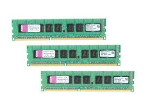 Kingston 12GB (3 x 4GB) 240-Pin DDR3 SDRAM ECC Unbuffered DDR3 1333 (PC3 10600) Server Memory Model KVR1333D3E9SK3/12G
