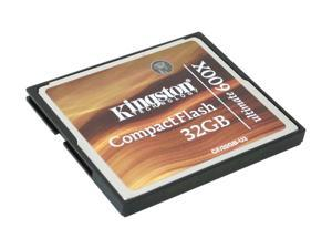 Kingston Ultimate 32GB Compact Flash (CF) Flash Card Model CF/32GB-U3