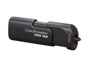 Kingston DataTraveler 100 Generation 2 16GB USB 2.0 Flash Drive