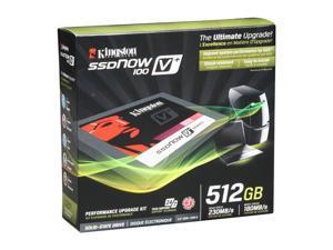 "Kingston SSDNow V+100 2.5"" 512GB SATA II MLC Internal Solid State Drive (SSD) SVP100S2B/512GR"