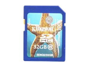 Kingston Ultimate 32GB Secure Digital High-Capacity (SDHC) Flash Card Model SD6G2/32GB