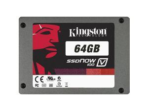 "Kingston SSDNow V100 Series SV100S2/64GZ 2.5"" 64GB SATA II Internal Solid State Drive (SSD)"