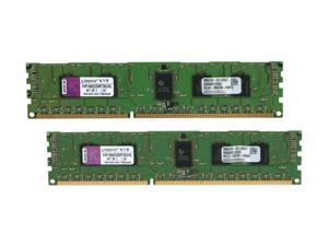 Kingston 4GB (2 x 2GB) 240-Pin DDR3 SDRAM ECC Registered DDR3 1066 (PC3 8500) Server Memory Model KVR1066D3S8R7SK2/4G
