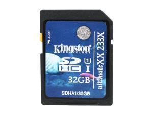 Kingston 32GB Secure Digital High-Capacity (SDHC) Ultimate XX Flash Card Model SDHA1/32GB