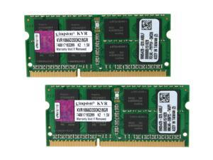 Kingston 8GB (2 x 4GB) 204-Pin DDR3 SO-DIMM DDR3 1066 Laptop Memory