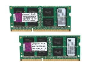 Kingston 8GB (2 x 4GB) 204-Pin DDR3 SO-DIMM DDR3 1333 Laptop Memory