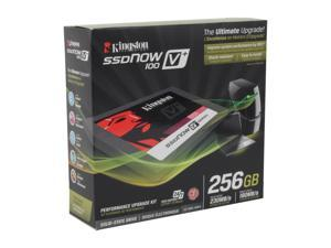 "Kingston SSDNow V+100 2.5"" 256GB SATA II MLC Internal Solid State Drive (SSD) SVP100S2B/256G"