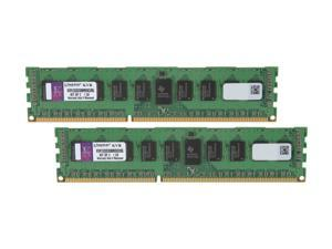 Kingston 8GB (2 x 4GB) 240-Pin DDR3 SDRAM ECC Registered DDR3 1333 Server Memory DR x8 w/TS Model KVR1333D3D8R9SK2/8G