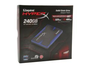 "Kingston HyperX SH100S3/240G 2.5"" MLC Internal Solid State Drive (SSD) (Stand-alone Drive)"