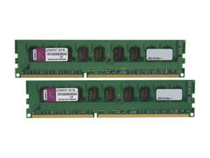 Kingston 4GB (2 x 2GB) 240-Pin DDR3 SDRAM Server Memory SR X8 w/TS Model KVR1333D3S8E9SK2/4G
