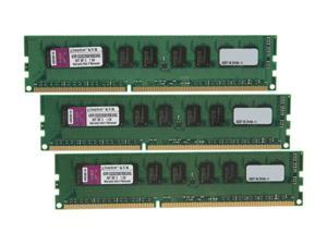 Kingston 6GB (3 x 2GB) 240-Pin DDR3 SDRAM Server Memory SR X8 w/TS Model KVR1333D3S8E9SK3/6G