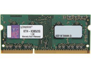 Kingston 2GB 204-Pin DDR3 SO-DIMM DDR3 1333 System Specific Memory Model KTH-X3BS/2G
