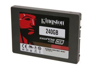 "Kingston SSDNow KC100 Series SKC100S3/240G 2.5"" Internal Solid State Drive (SSD)  (stand-alone drive)"