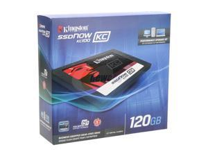 "Kingston SSDNow KC100 Series SKC100S3B/120G 2.5"" Internal Solid State Drive (SSD)  (upgrade bundle kit)"