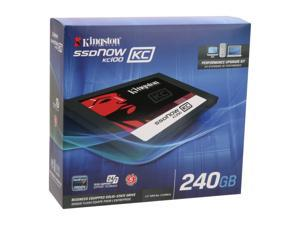 "Kingston SSDNow KC100 Series SKC100S3B/240G 2.5"" Internal Solid State Drive (SSD)  (upgrade bundle kit)"