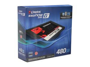 "Kingston SSDNow V+200 SVP200S3B/480G 2.5"" Internal Solid State Drive (SSD) (Upgrade Bundle Kit)"