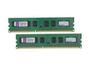 Kingston 4GB (2 x 2GB) 240-Pin DDR3 SDRAM DDR3 1333 Desktop Memory STD Height 30mm