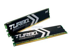 PQI TURBO 2GB (2 x 1GB) 184-Pin DDR SDRAM Dual Channel Kit Server Memory Model PQI3200-2048DBR