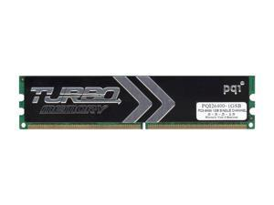 PQI TURBO 1GB 240-Pin DDR2 SDRAM DDR2 800 (PC2 6400) Desktop Memory