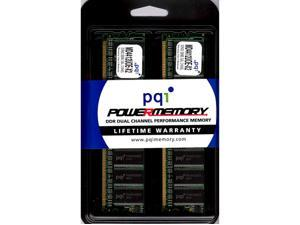 PQI POWER Series 512MB (2 x 256MB) 184-Pin DDR SDRAM DDR 400 (PC 3200) Dual Channel Kit Desktop Memory