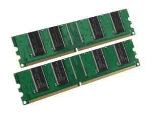 pqi 1GB (2 x 512MB) 184-Pin DDR 266 (PC 2100) Dual Channel Kit Memory