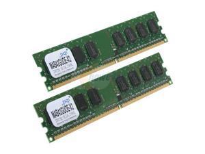 PQI POWER Series 2GB (2 x 1GB) 240-Pin DDR2 SDRAM DDR2 533 (PC2 4200) Dual Channel Kit Desktop Memory