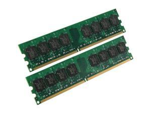 PQI POWER Series 4GB (2 x 2GB) 240-Pin DDR2 SDRAM DDR2 800 (PC2 6400) Dual Channel Kit Desktop Memory Model MAD44GUOE-X2