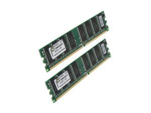 Kingston ValueRAM 512MB (2 x 256MB) 184-Pin DDR SDRAM DDR 400 (PC 3200) Dual Channel Kit System Memory