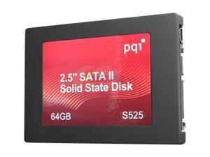 """PQI DK9640GD2R000A03 2.5"""" 64GB SATA II MLC Internal Solid State Drive (SSD)"""