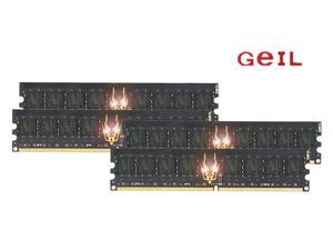 GeIL Black Dragon 8GB (4 x 2GB) 240-Pin DDR2 SDRAM DDR2 800 (PC2 6400) Quad Channel Kit Desktop Memory Model GB28GB6400C5QC