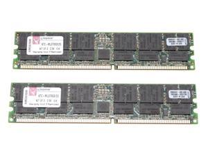 Kingston 2GB (2 x 1GB) 184-Pin DDR SDRAM Dual Channel Kit System Specific Memory for HP/Compaq