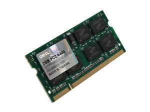 GeIL 2GB 200-Pin DDR2 SO-DIMM DDR2 800 (PC2 6400) Laptop Memory Model GX2S6400-2GB