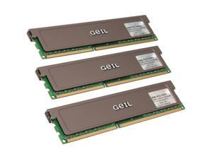 GeIL 6GB (3 x 2GB) 240-Pin DDR3 SDRAM DDR3 1333 (PC3 10660) Triple Channel Kit Desktop Memory