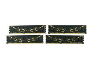 GeIL Black Dragon 8GB (4 x 2GB) 240-Pin DDR3 SDRAM DDR3 2000 (PC3 16000) Desktop Memory Model GB38GB2000C9QC