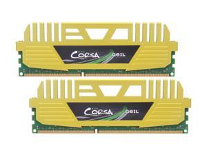 GeIL EVO CORSA Series 8GB (2 x 4GB) 240-Pin DDR3 SDRAM DDR3 1866 (PC3 14900) Desktop Memory Model GOC38GB1866C9DC