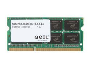GeIL 8GB 204-Pin DDR3 SO-DIMM DDR3 1333 (PC3 10660) Laptop Memory