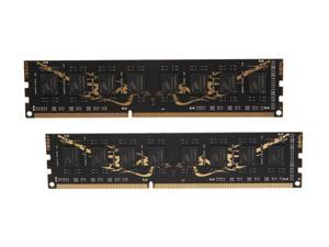 GeIL Black Dragon 16GB (2 x 8GB) 240-Pin DDR3 SDRAM DDR3 1600 (PC3 12800) Desktop Memory Model GB316GB1600C10DC
