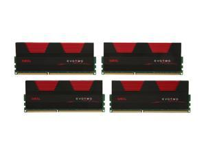 GeIL Evo Two 32GB (4 x 8GB) 240-Pin DDR3 SDRAM DDR3 1333 (PC3 10660) Desktop Memory Model GET332GB1333C9QC