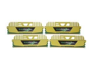 GeIL EVO CORSA Series 32GB (4 x 8GB) 240-Pin DDR3 SDRAM DDR3 1866 (PC3 14900) Desktop Memory Model GOC332GB1866C9QC