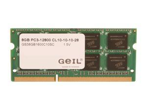 GeIL 8GB 204-Pin DDR3 SO-DIMM DDR3 1600 (PC3 12800) Laptop Memory