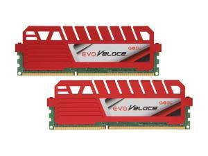 GeIL EVO Veloce Series 16GB (2 x 8GB) 240-Pin DDR3 SDRAM DDR3 1866 (PC3 14900) Desktop Memory Model GEV316GB1866C9DC